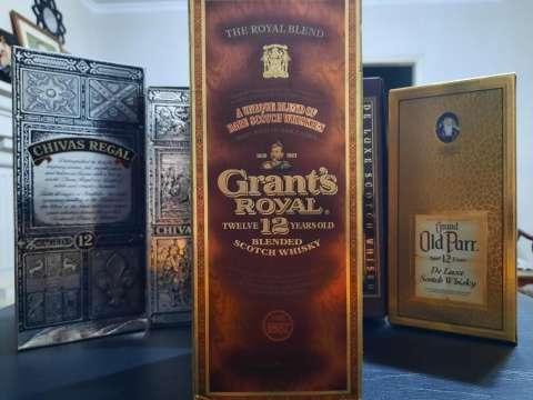 Whisky Grant's Royal 12 años Blended Scotch añejado de los años 70 - 2