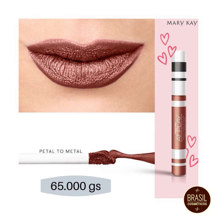 Mary Kay At Play labial líquido mate metálico - 0