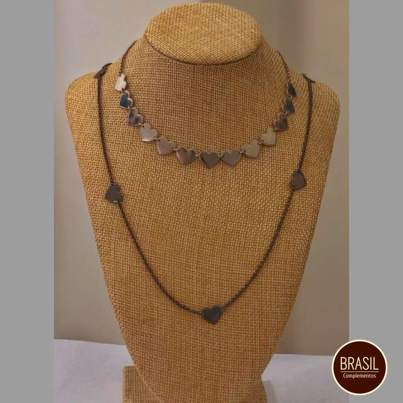 Conjunto de collares bijou fino - 0