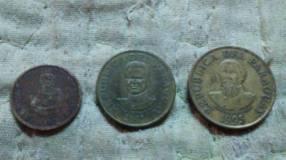 Set de 5 50 y 100 guaraníes de cobre níquel