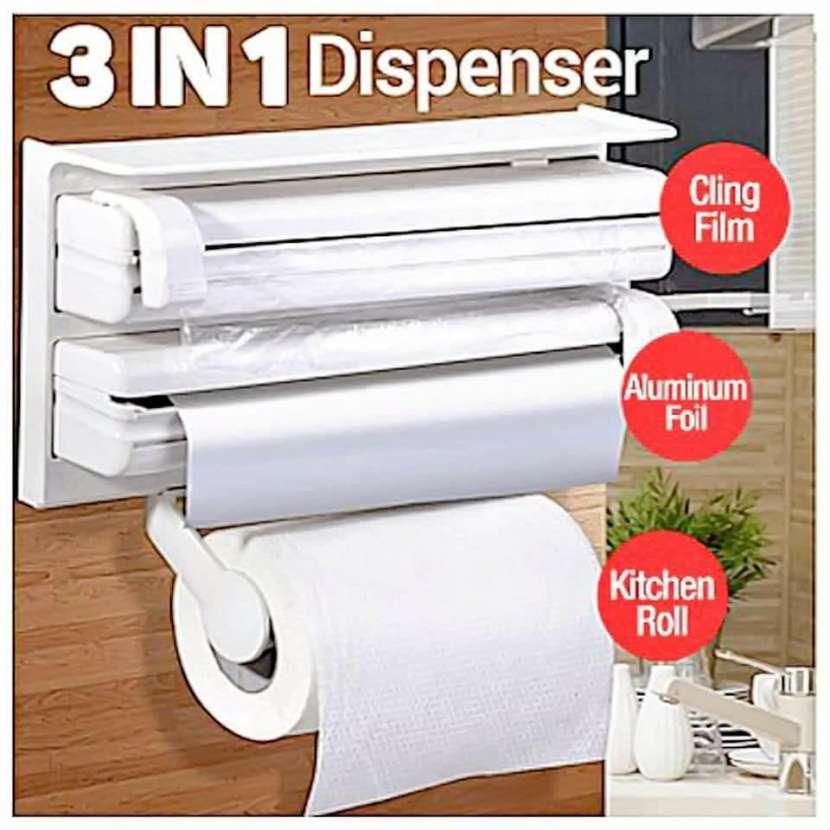 Dispenser porta papel 3x1 - 0