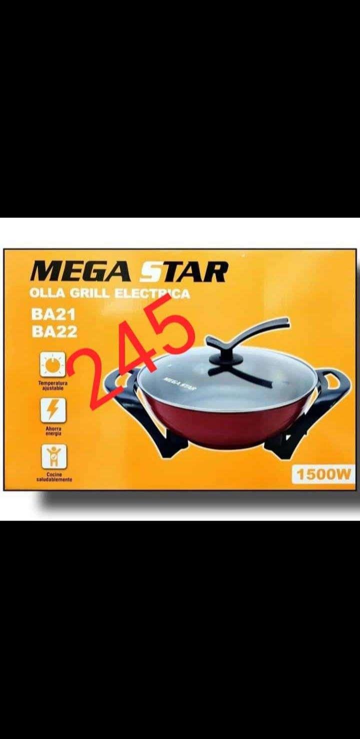 Olla grill eléctrica Mega Star - 0