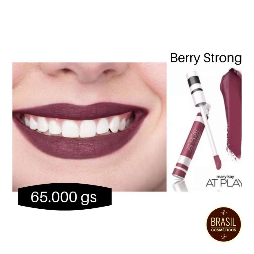 Mary Kay At Play labial líquido mate Berry strong - 1