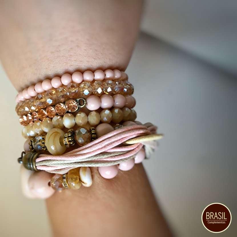 Mix de pulseras rose gold vintage - 1