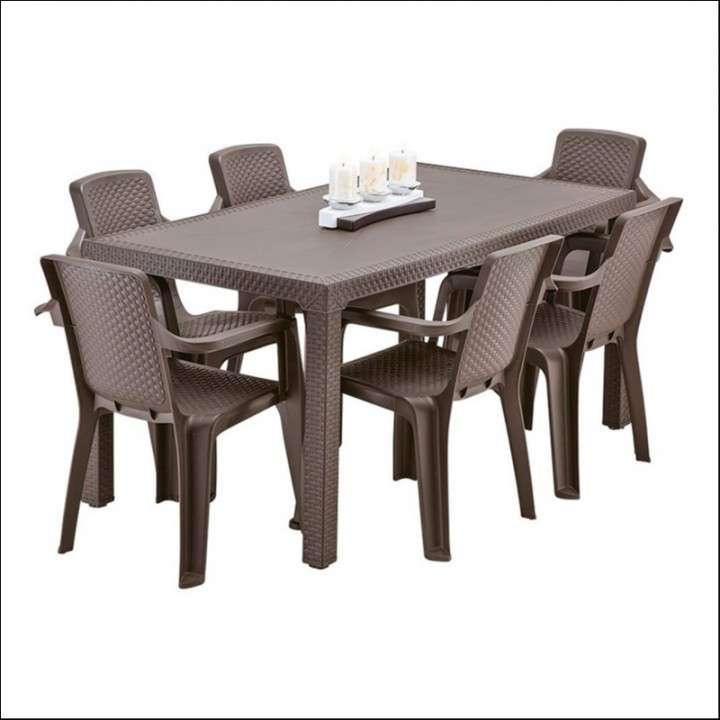 Juego de comedor Eterna familiar con 6 sillas - 2