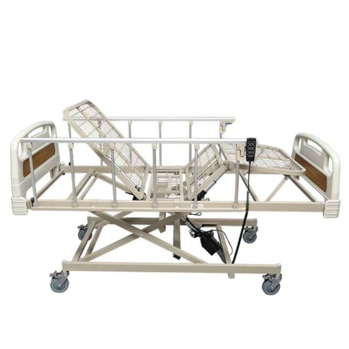 Cama hospitalaria de 3 movimientos eléctrica con colchón - 0