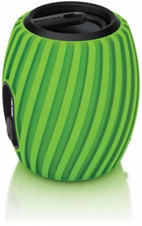 Altavoz Philips Soundshooter SBA-3011 aux verde