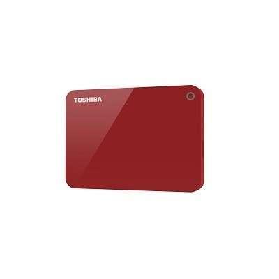 HDD externo 2.0 TB Toshiba Canvio Advance USB 3.0 rojo - 2