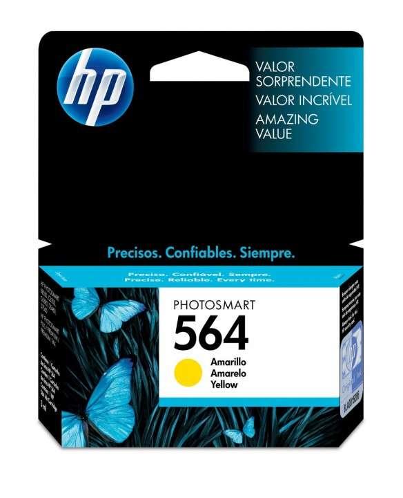Cartucho de tinta HP 564-CB320WL amarillo - 0