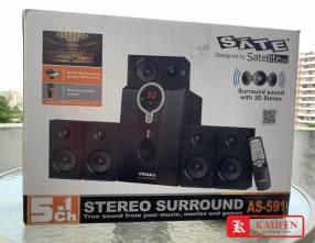 Equipo de sonido estéreo SATE x5