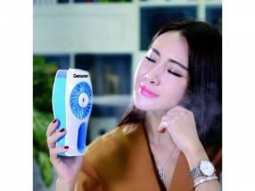 Mini ventilador humidificador