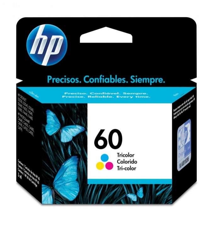 Cartucho de tinta HP 60-CC643WL color - 0