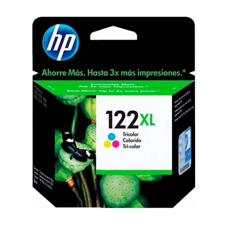 Cartucho de tinta HP 122XL-CH564HL color - 0