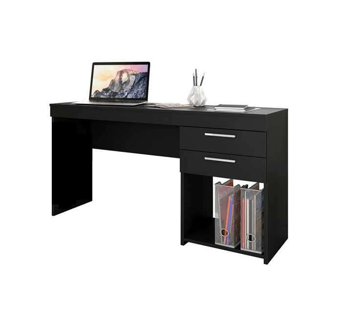 Escritorio Office negro 1200 x 70 x 43 cm - 1