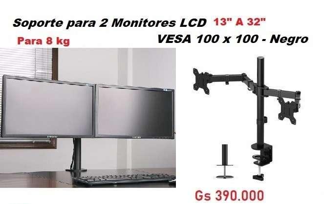 Soporte para 2 monitores - 0
