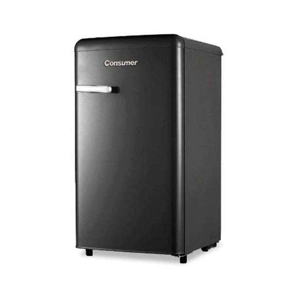 Frigobar retro Consumer 120 litros negro - 0