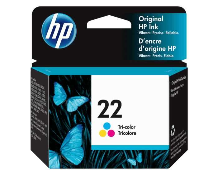 Cartucho de tinta HP 22-C9352AL color - 0