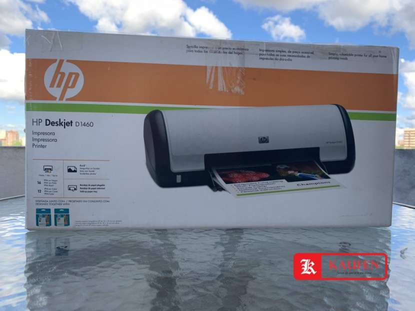 Impresora HP DeskJet D1460 - 0