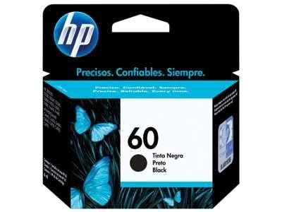 Cartucho de tinta HP 60-CC640WL negro - 0