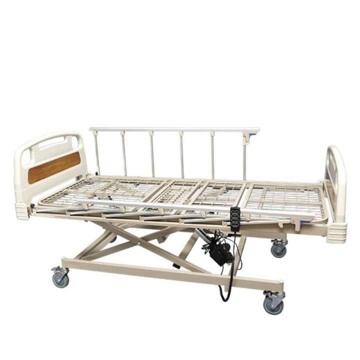 Cama hospitalaria de 3 movimientos eléctrica con colchón - 1