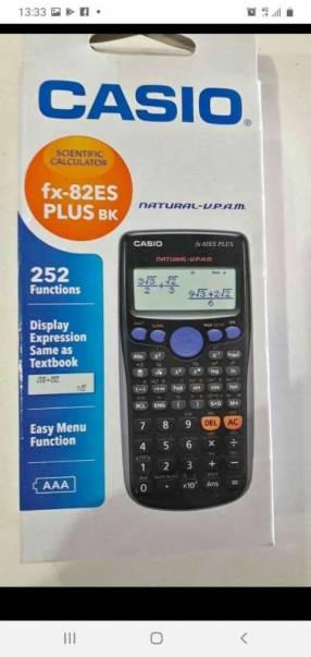 Calculadora científica Casio fx 82 es plus 1ra edición