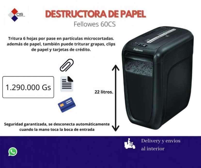 Destructora o trituradora de papel Fellowes - 0