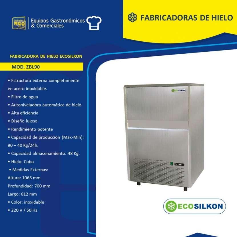 Fabricadora de hielo Ecosilkon de 40 a 90 Kg - 0