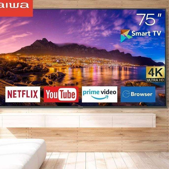 Smart TV Aiwa de 75 pulgadas - 0