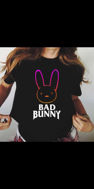 Remera personalizada de Bad Bunny - 2