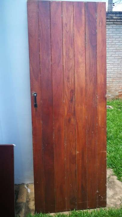 Puerta de madera maciza 2.10 x 0.80 - 1