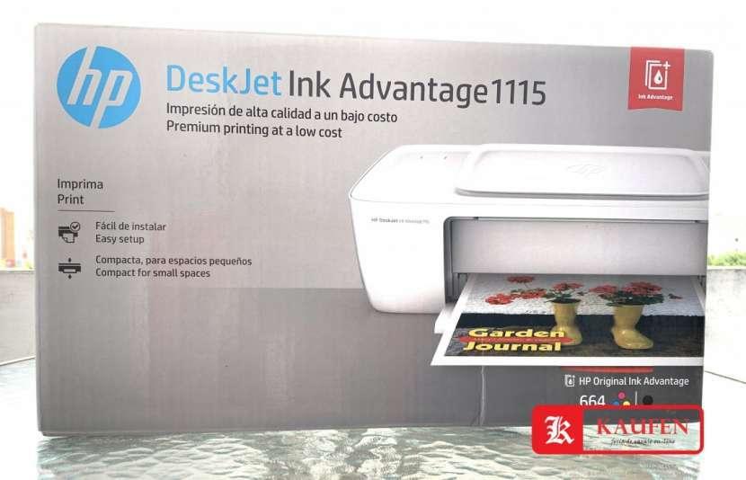 Impresora HP Deskjet Ink Advantage 1115 - 0