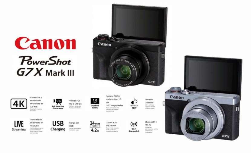 Cámara Canon PowerShot G7X Mark III - 0