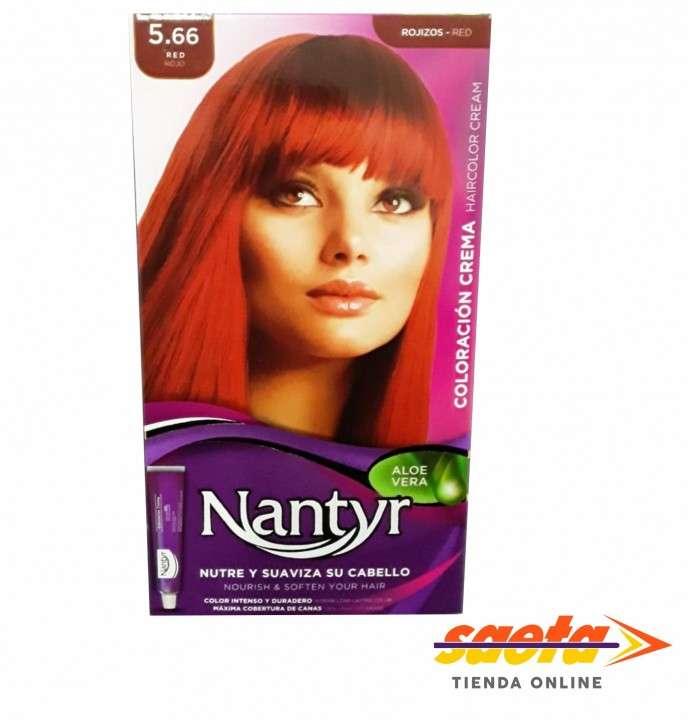 Kit crema color Nantyr rojo 5.66 - 0