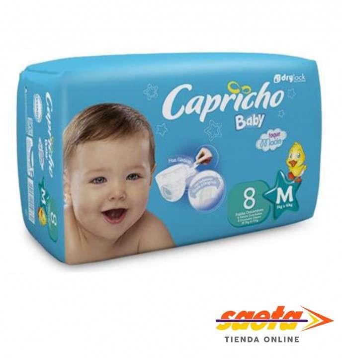 Pañal Capricho Baby regular M 16x8 - 0