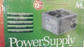 Fuente ATX 650 watts Mtek cooler 12x12