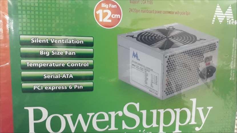 Fuente ATX 650 watts Mtek cooler 12x12 - 0