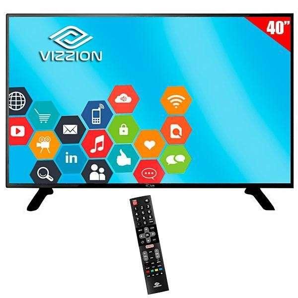 Smart TV LED 40 Vizzion - 0
