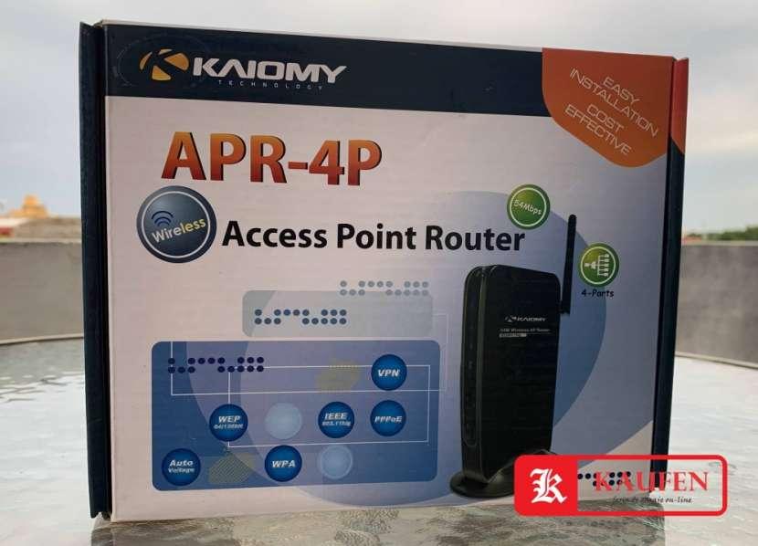 Router 4 puertos - 0