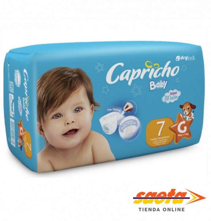 Pañal Capricho Baby regular G 16x7 - 0