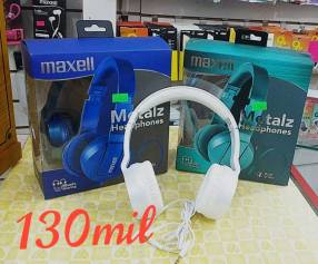 Auriculares Maxell Metalz