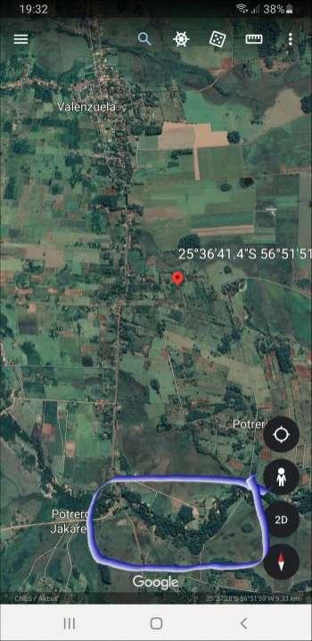 Valenzuela sobre arroyo Y'aka 6.5 hectáreas - 5