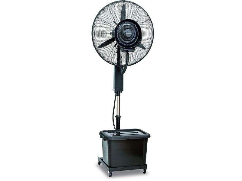 Ventilador humidificador industrial de pie - 0