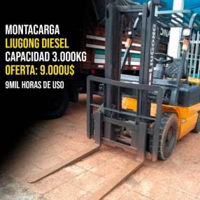 Montacarga Liugong diésel