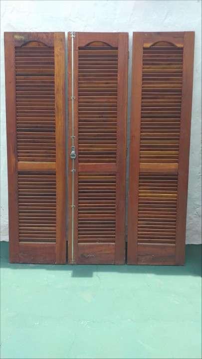Puerta ventana + puerta persiana + ventana - 0