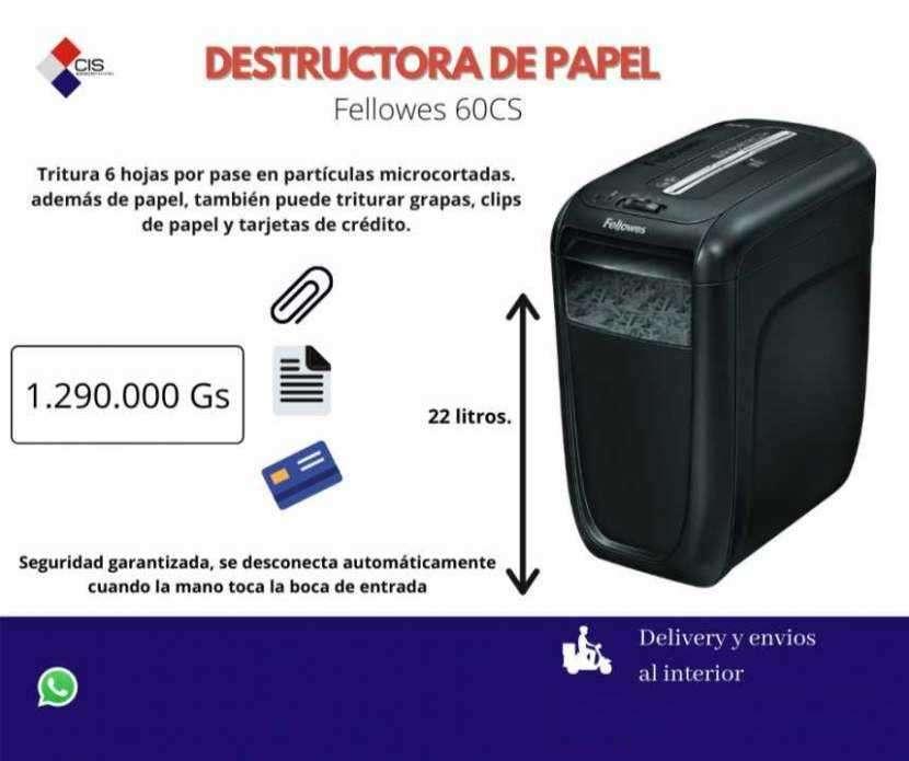 Destructora de papel Fellowes 60CS - 0
