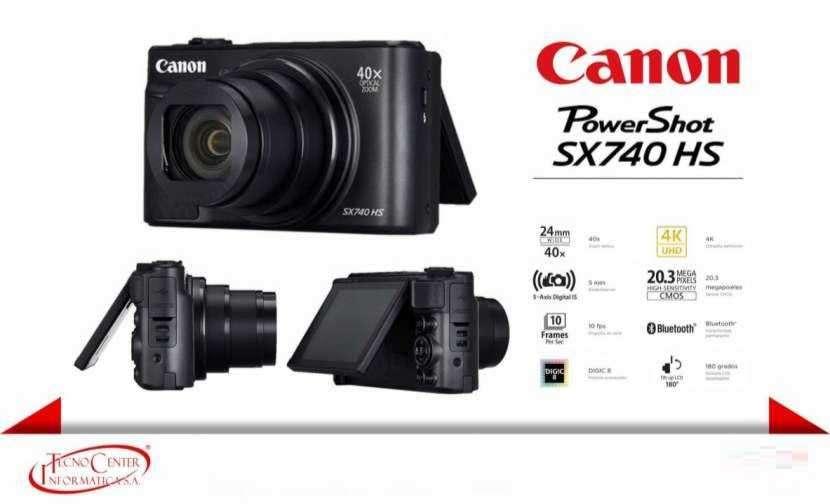 Cámara Canon PowerShot SX740 HS - 0