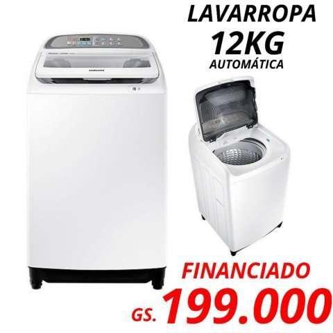 Lavarropa automático Samsung 12 Kg C/S - 0