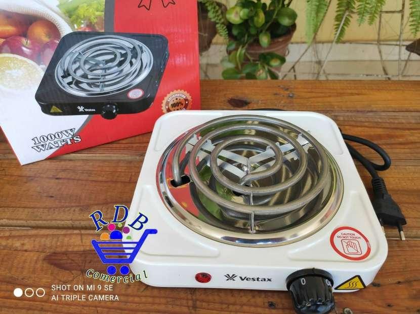 Cocina eléctrica Vestax 1 hornalla - 0