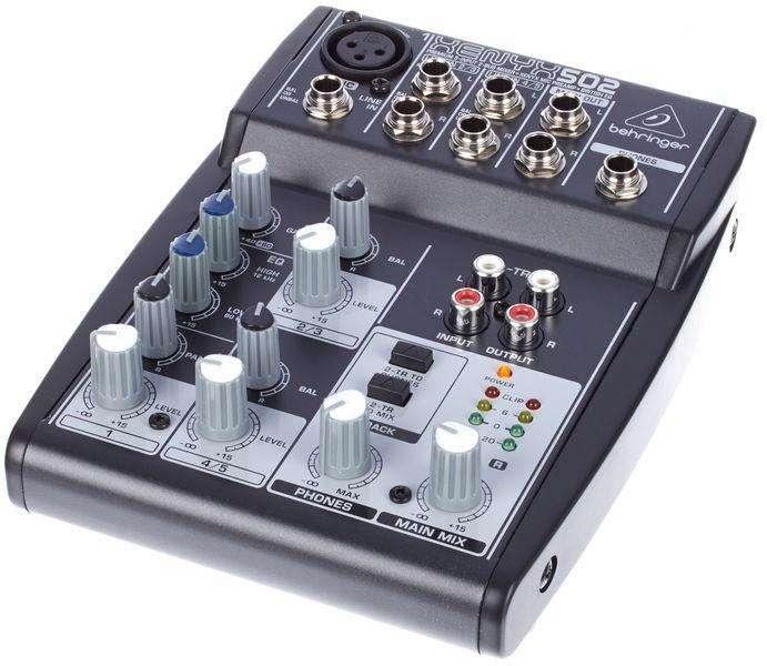 Consola Behringer Xenyx 502 - 0