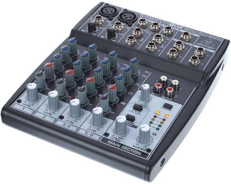 Consola Behringer Xenyx 802 - 0